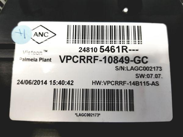 Tacho Kombiinstrument Renault Clio 4 248105461R 30062