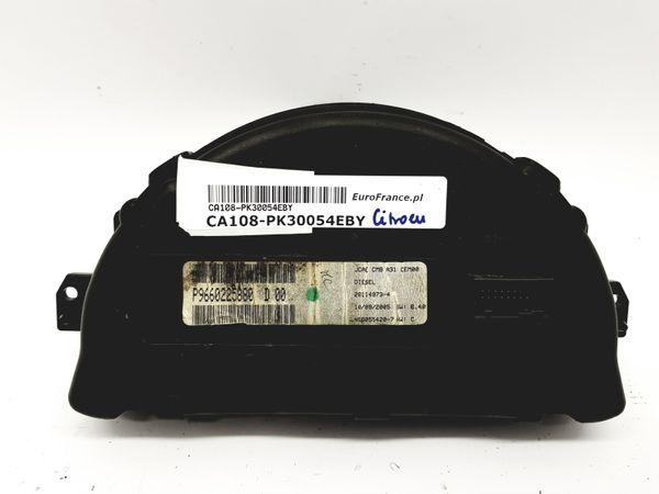Tacho Kombiinstrument Citroen C2 C3 9660225880 D 00 30054